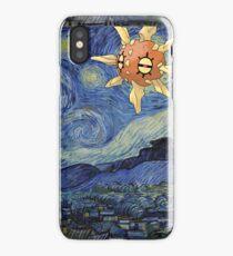 Pokemon Starry Night Solrock iPhone Case/Skin