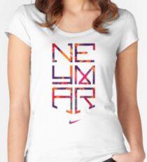 neymar Women's Fitted Scoop T-Shirt