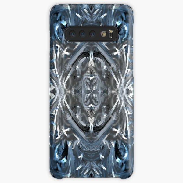 Accented: Blue's and Whites  Samsung Galaxy Snap Case