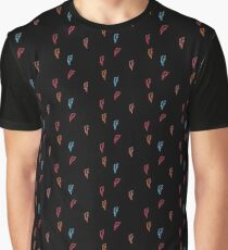 David Bo Pattern Graphic T-Shirt