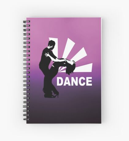 lets dance and have fun Spiral Notebook