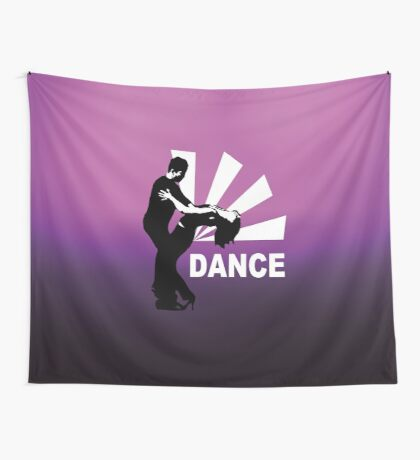 lets dance and have fun Wall Tapestry