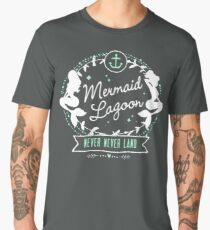 Mermaid Lagoon // Never Land // Peter Pan Men's Premium T-Shirt