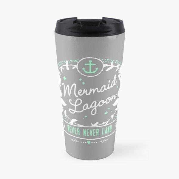 Mermaid Lagoon // Never Land // Peter Pan Travel Mug