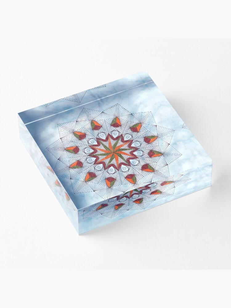 Alternate view of Strike 2 Acrylic Block