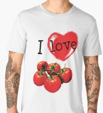 I Love Tomatoes Men's Premium T-Shirt