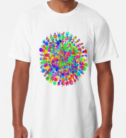 Space color splash Long T-Shirt