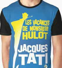 The Holidays Of Monsieur Hulot Jacques Tati Graphic T-Shirt