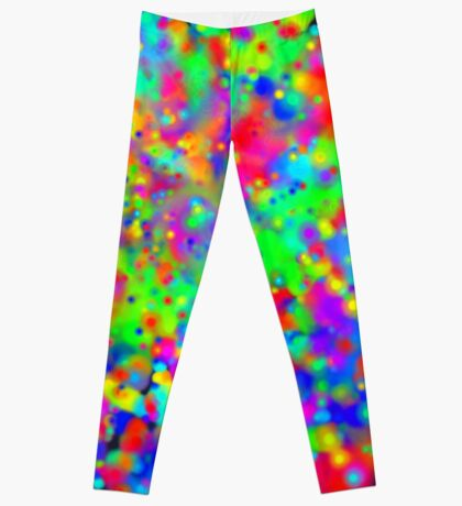 Space color splash Leggings