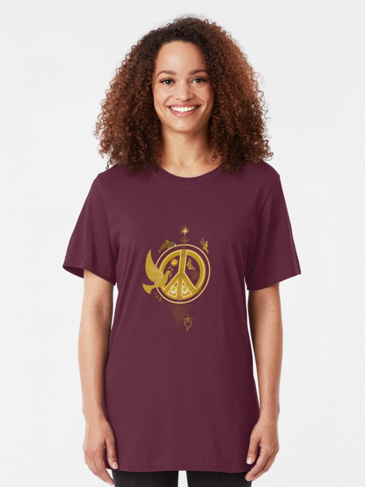 Alternate view of Paz  Slim Fit T-Shirt