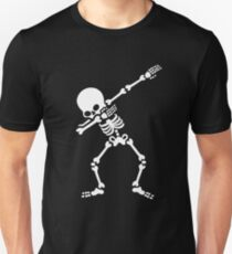 Dabbing skeleton (Dab) Slim Fit T-Shirt
