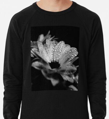 Gänseblümchen in Schwarz und Weiß Leichter Pullover