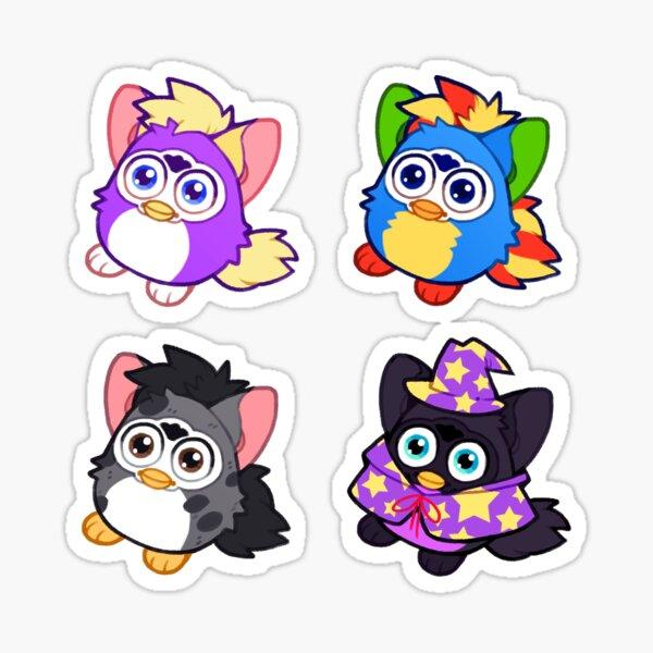 lil furbs - set 3 Sticker