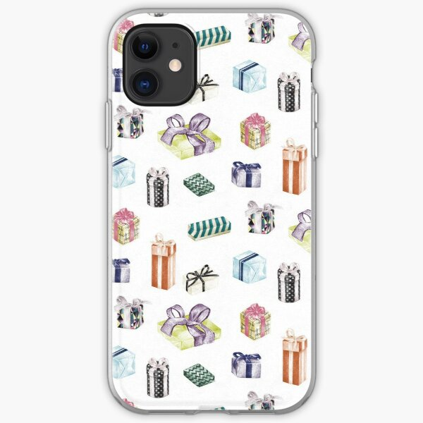Colour Birthday Pattern by Chrissy Curtin iPhone Soft Case
