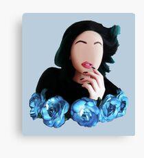 Kylie Jenner Selfie Minimalist! Canvas Print