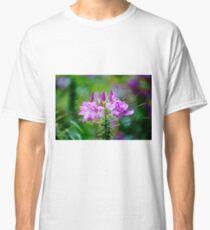 Purple Spider Flower Classic T-Shirt