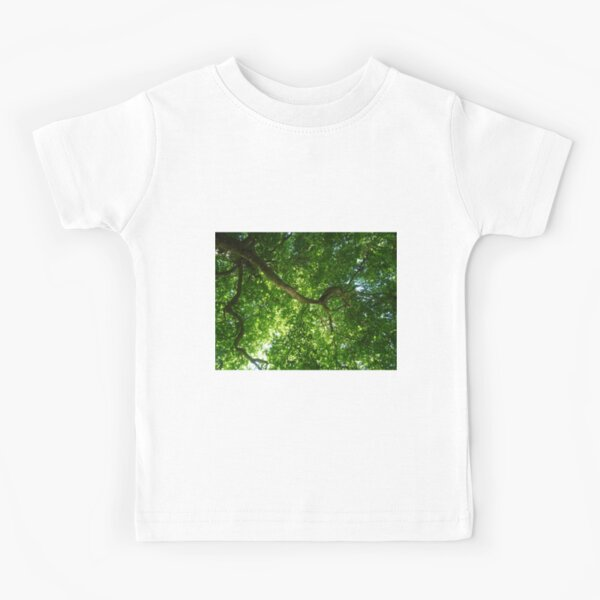 200 years old tree on river Cam Kids T-Shirt