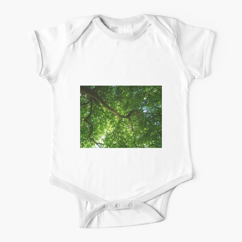 200 years old tree on river Cam Baby One-Piece