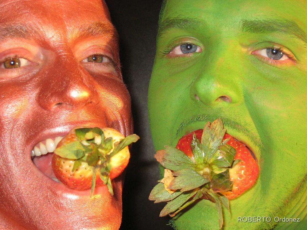 strawberries by Robert Ordonez