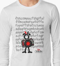 Red - The New Guy - funcompactdigitalcamera .. Long Sleeve T-Shirt