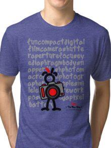 Red - The New Guy - funcompactdigitalcamera .. Tri-blend T-Shirt