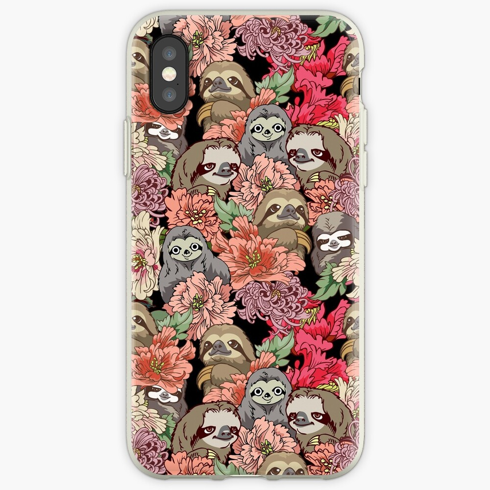 Because Sloths iPhone Case & Cover