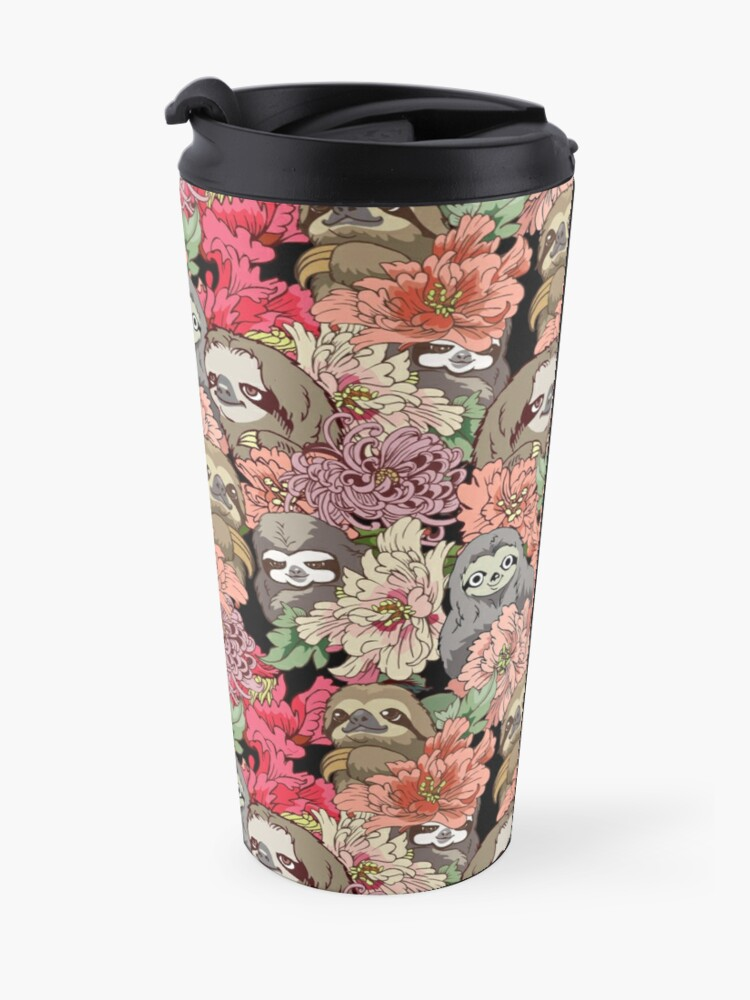 Alternate view of Because Sloths Travel Mug