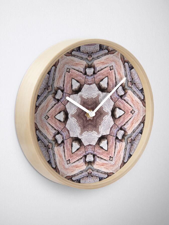 Horloge ''Pierre Design': autre vue