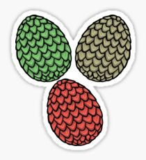 Dragon Eggs Sticker