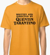 Camiseta clásica Written and directed by Tarantino