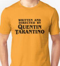 Written and directed by Tarantino Unisex T-Shirt