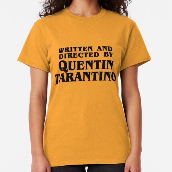 Written and directed by Tarantino Camiseta clásica