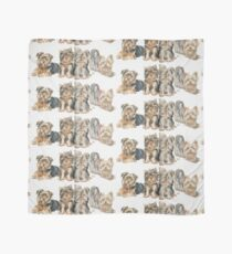 Yorkshire Terrier Puppies Scarf