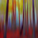 Into the Woods No8 - Digital Art by David Alexander Elder