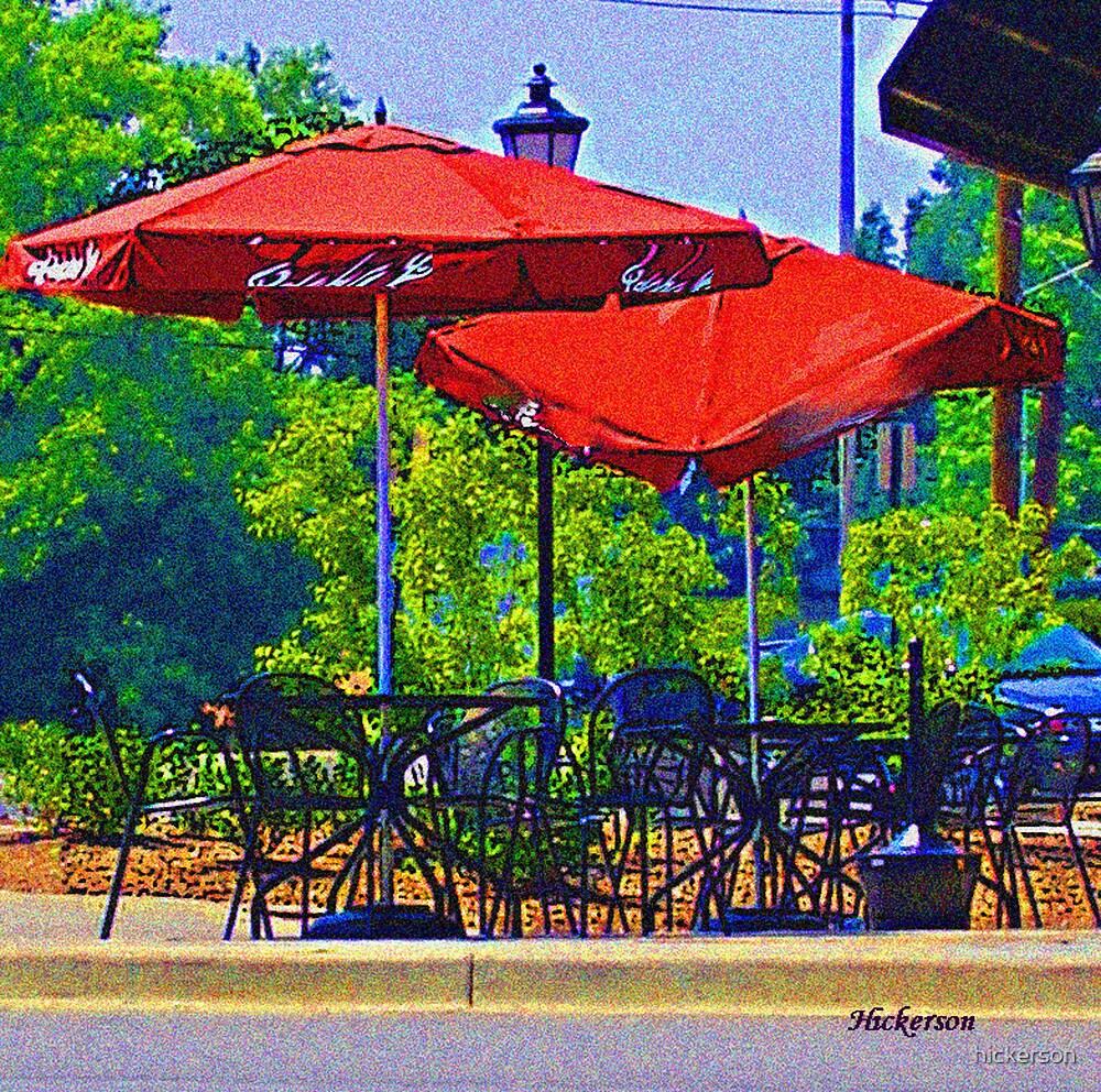 Lunch Crowd by hickerson