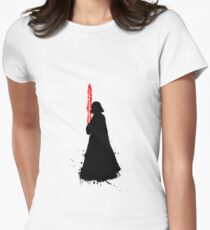 Star Wars Darth Vader Splat  Women's Fitted T-Shirt