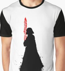 Star Wars Darth Vader Splat  Graphic T-Shirt