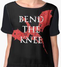 bend the knee Women's Chiffon Top