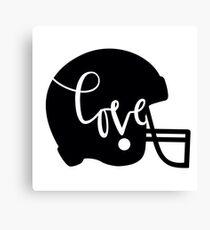 love football baseball american football sports Canvas Print