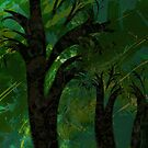 Forest Canopy - high res by rocamiadesign