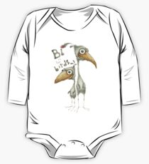 B is for Birds One Piece - Long Sleeve