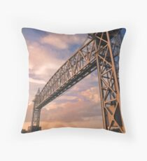 Spanning Across Throw Pillow