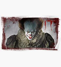 Pennywise IT 2017 Poster