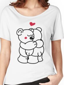 Teddys in love Women's Relaxed Fit T-Shirt