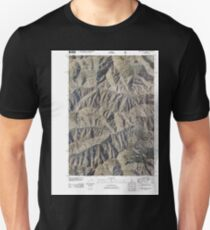 USGS TOPO Map Idaho ID Bear Creek Point 20110126 TM Unisex T-Shirt