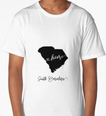 South Carolina USA States Long T-Shirt