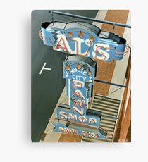 Al's Pawn Shop Canvas Print