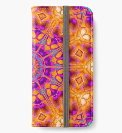 V1 Trippy Hippy Geometric Mandala iPhone Wallet
