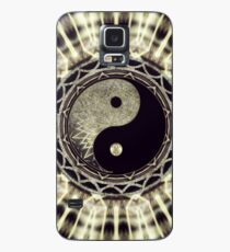 Mandala YinYang Balance Life Geometry Case/Skin for Samsung Galaxy