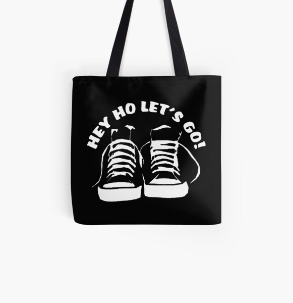 HEY HO LET'S GO All Over Print Tote Bag